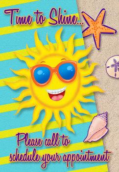 Time to Shine Postcard