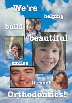 Helping Build Beautiful Smiles Welcome Postcard