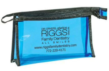 Zippered Toiletry Bag