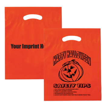 Economy Orange Halloween Goodie Bag