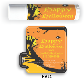 All Natural Lip Balm with Halloween Design