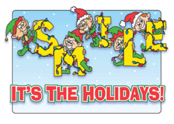 Smiling Elves Holiday Greeting Card