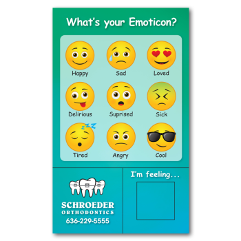 Emoticon Magnet
