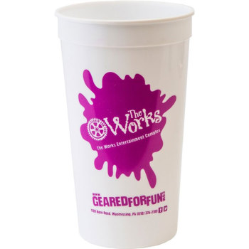 32oz Smooth Wall Stadium Cup