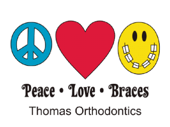 Peace-Love-Braces® Temporary Tattoos