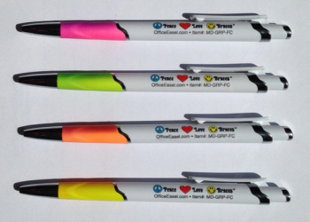 Mood Grip Pen with Full Color Imprint