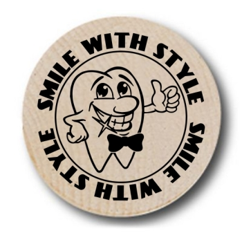 Smile With Style Wooden Nickels