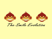 Smile Evolution Greeting Card