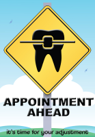 Appointment Ahead Recall Postcard