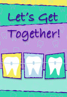 Molars and Braces Recall Postcard