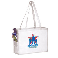 Large Reuseable Full Color Tote Bag - 16 x 6 x 12