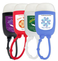 Hand Sanitizer with Silicone Holder