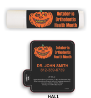 All Natural Lip Balm with Orthodontic Health Month Design