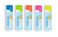 SPF 15 Neon Lip Balm with Forecasting Big Smiles Design