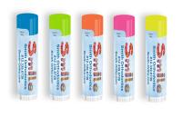 SPF 15 Neon Lip Balm with Smile Design