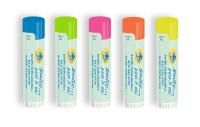 SPF 15 Neon Lip Balm with Smile Pass It On Design
