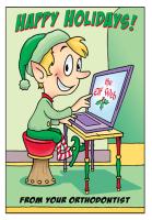 Elf Happy Holidays Greeting Card