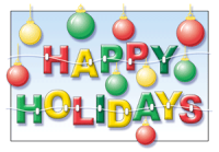 Happy Holidays With Braces Greeting Card