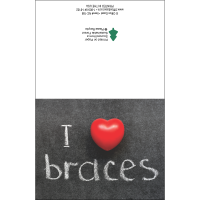 I Heart Braces Note Card Pack