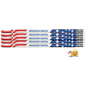 Flag Personalized Patriotic Pencil