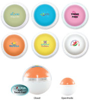 Round Colorful Lip Balm - Full Color Imprint