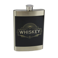 Sublimated 8oz Premium Flask