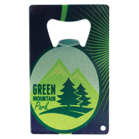 """Sublimated 2"""" x 3.25"""" Stainless Bottle Opener"""