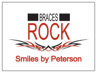 Braces Rock Temporary Tattoos