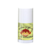 Mini Lip Balm with Bananas For Braces Design