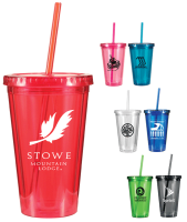 Varsity Tumbler with One Color Imprint