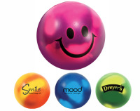 Stress Mood Ball with Smiley Face