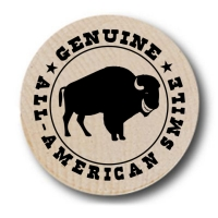 All-American Smile Buffalo Wooden Nickels