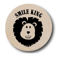 Smile King Wooden Nickels