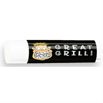 All Natural Lip Balm with Great Grill Design