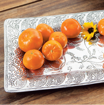 Heirloom Silver Tray