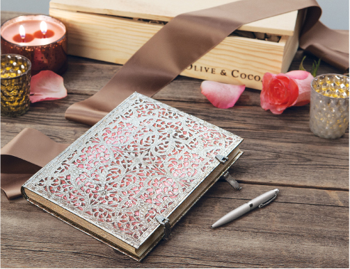 A Beautiful Notebook to Record the Process