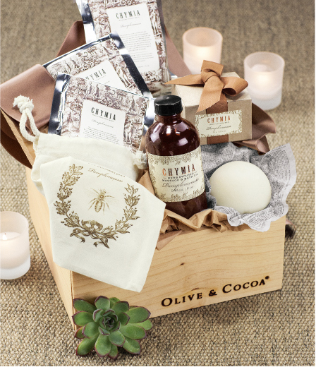 French Grapefruit and Bergamot Spa Crate
