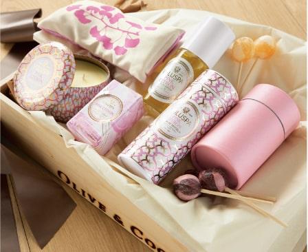Posh Pink Citron Spa Set