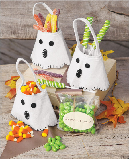 Ghostly Mini Totes & Treats