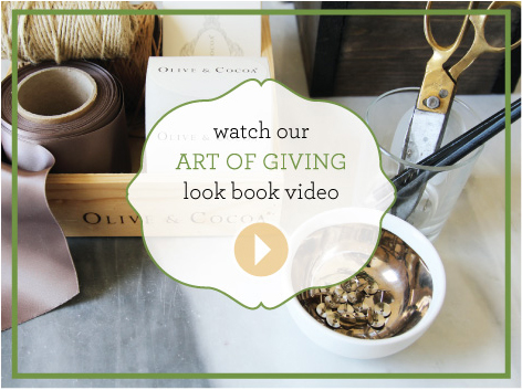 Art Of Giving Look Book Video