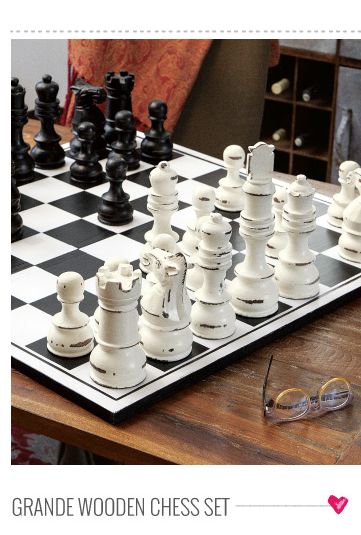 Grande Wooden Chess Set
