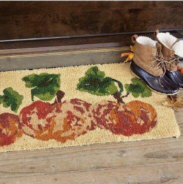 Watercolor Pumpkins Estate Mat