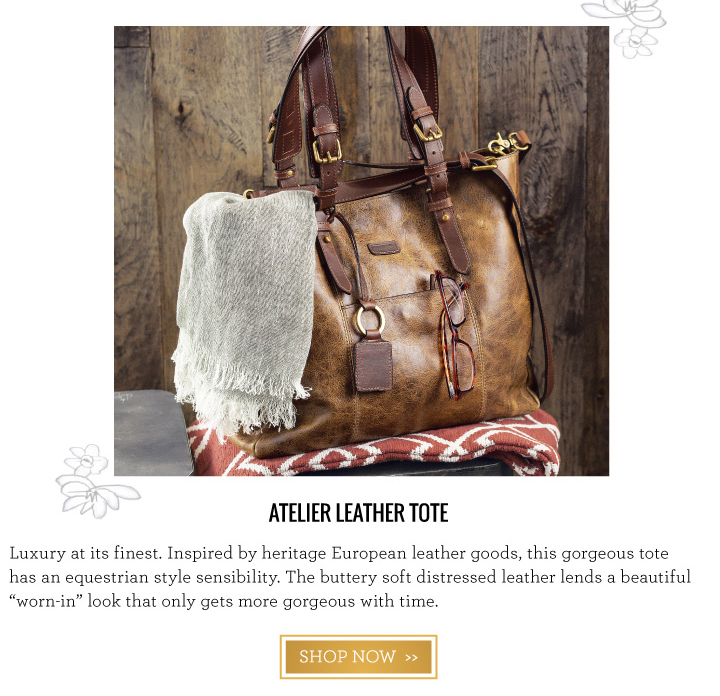 Atelier Leather Tote