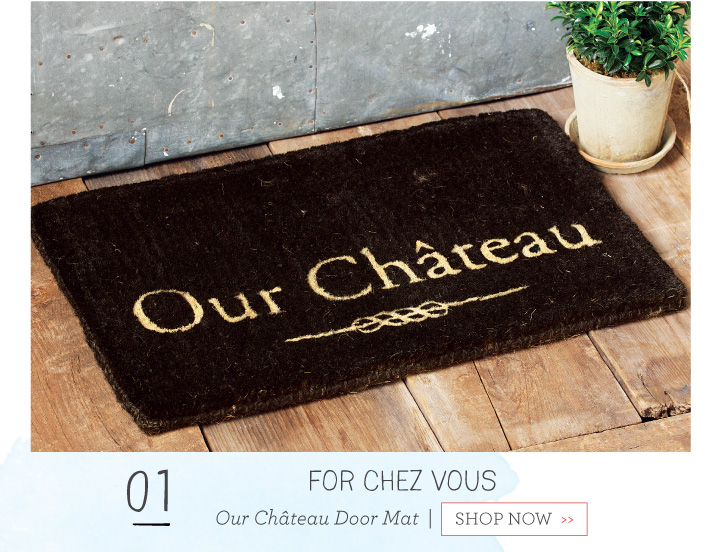 Our Chateau Door Mat