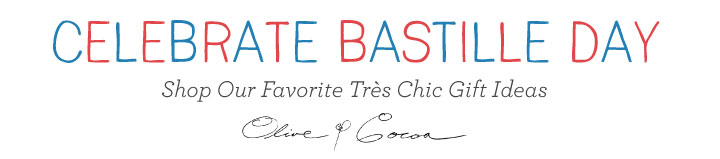 Parisian Gifts to Celebrate Bastille Day: Olive & Cocoa