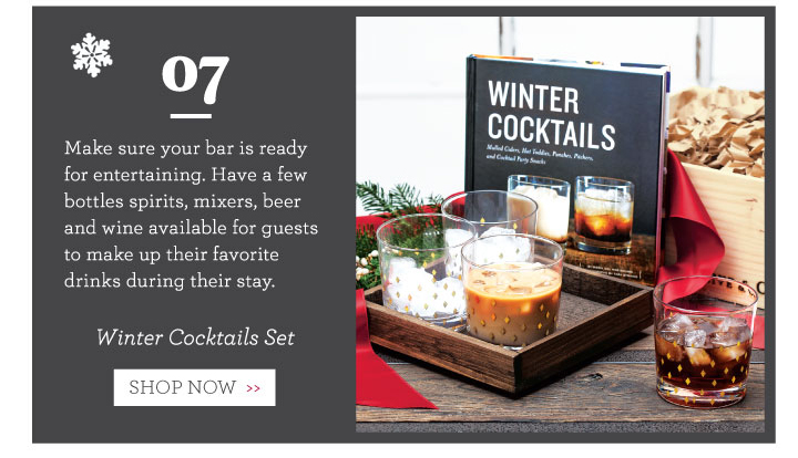 Winter Cocktails Set