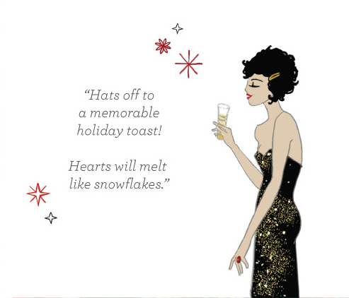 A holiday soiree