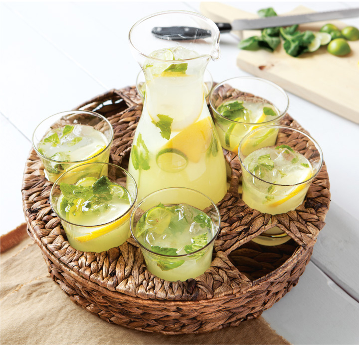Spring Drinks: Citrus Mint Mojito