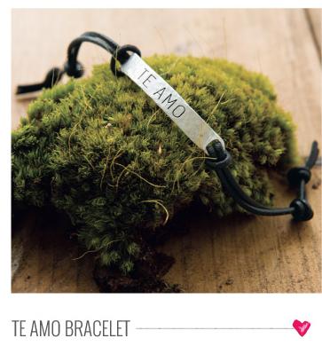 Te Amo Bracelet
