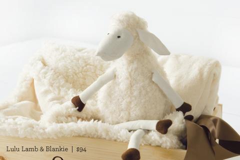 Lulu Lamb And Blankie